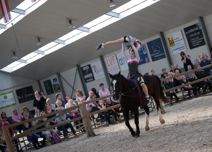 voltigewedstrijd, paardensportcentrum Lichtenvoorde