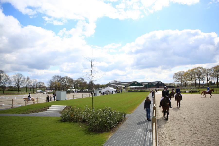 PSC outdoor dressuurwedstrijd, Wendy Scholten, paardensportcentrum Lichtenvoorde